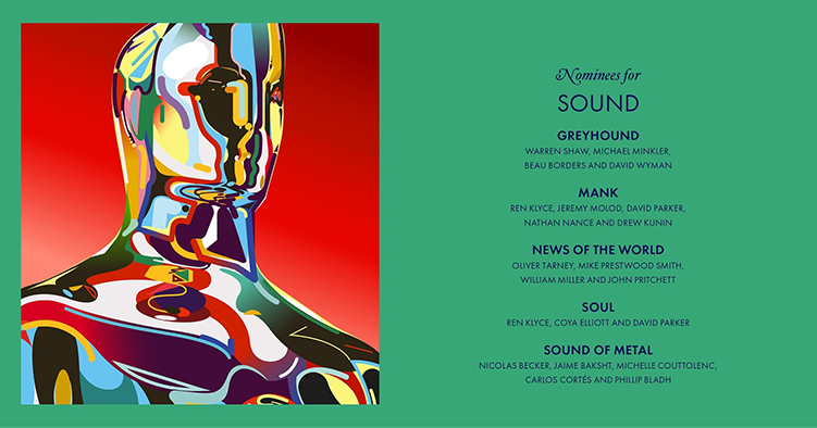 News Of The World and TFS Re-recording Mixer Will Miller nominated for Best Sound Oscar