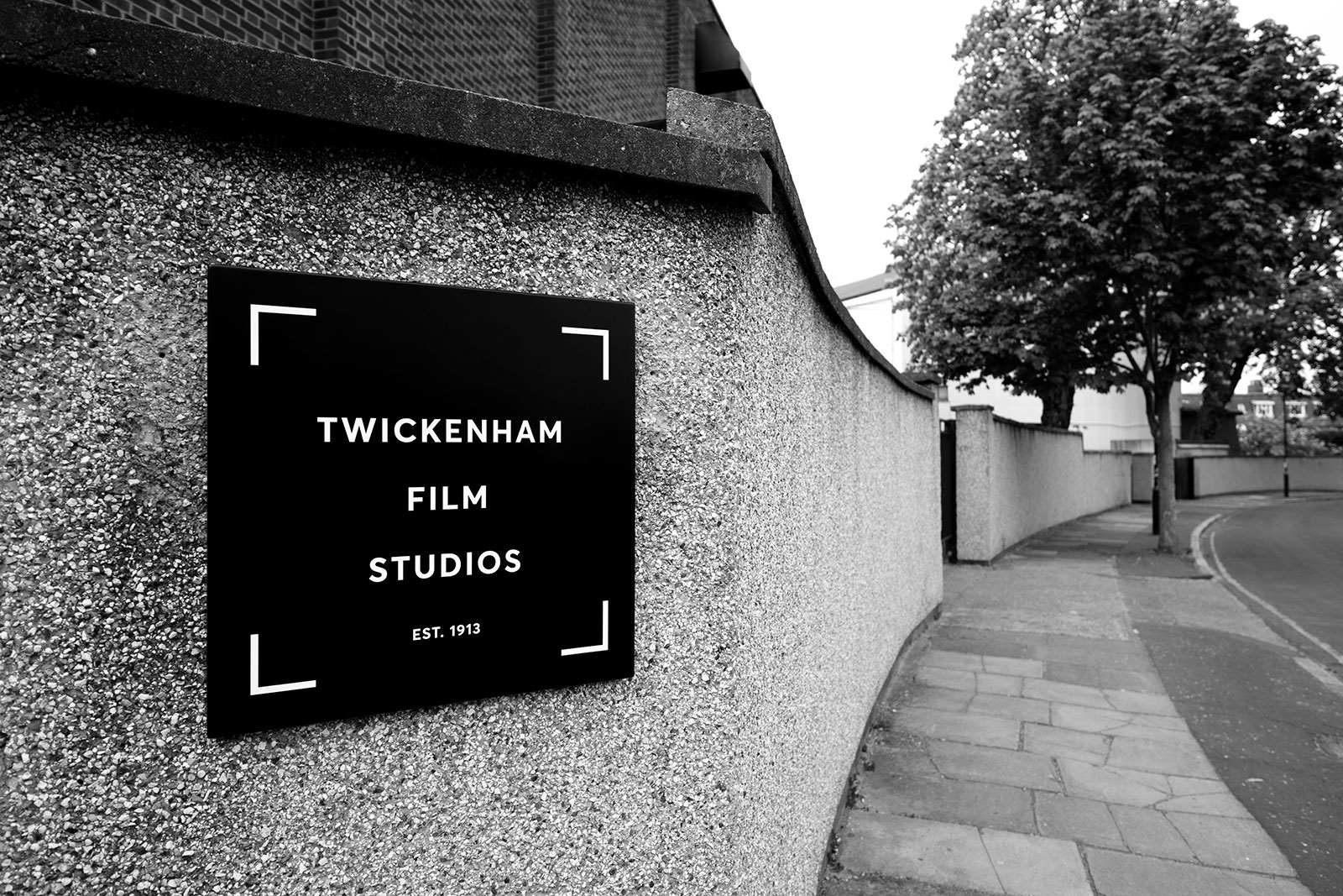 The launch of the Twickenham Film Studios Rebrand. A Home For Filmmakers.