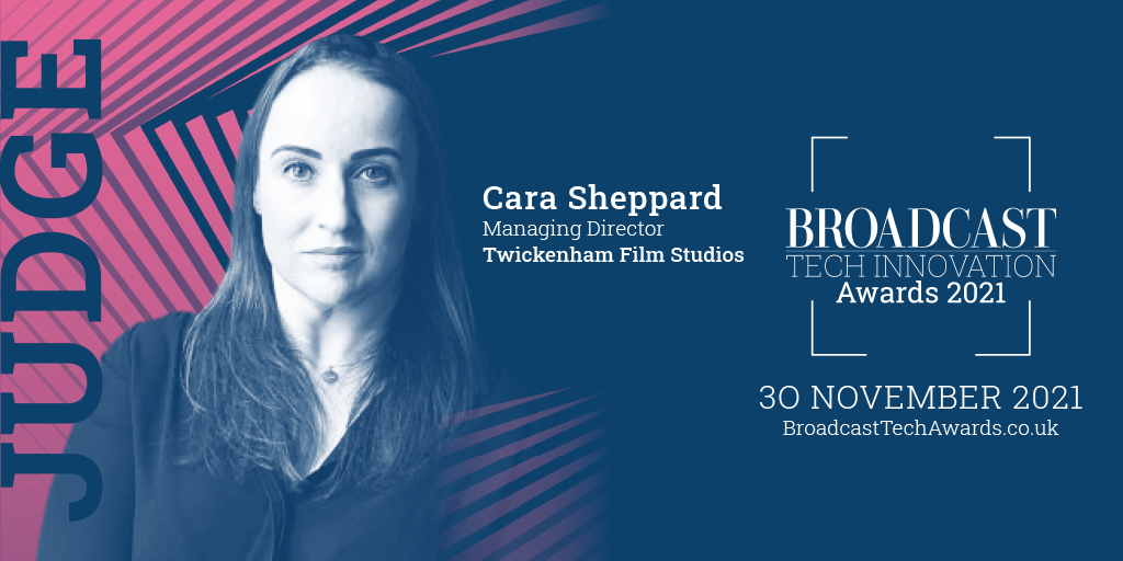 TFS MD Cara Sheppard joins Broadcast Tech Innovation Awards as a Judge.