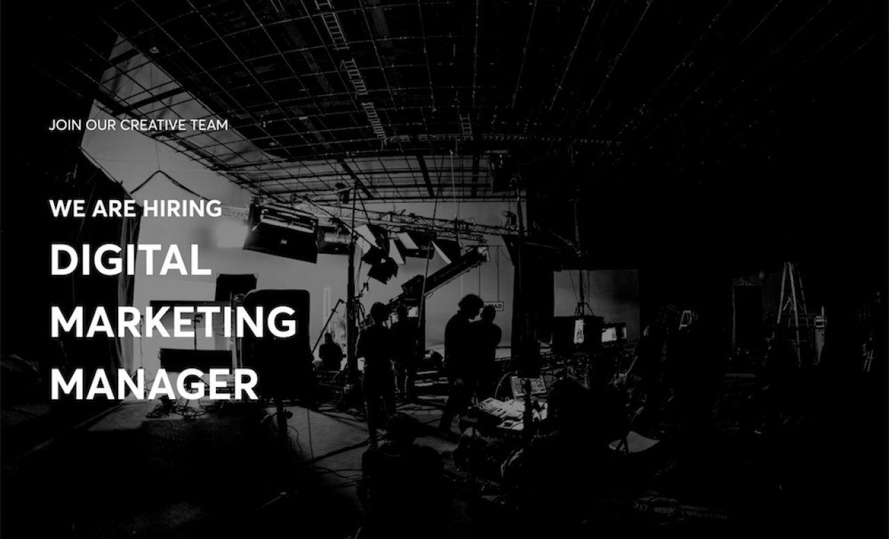 Digital Marketing Manager TFS