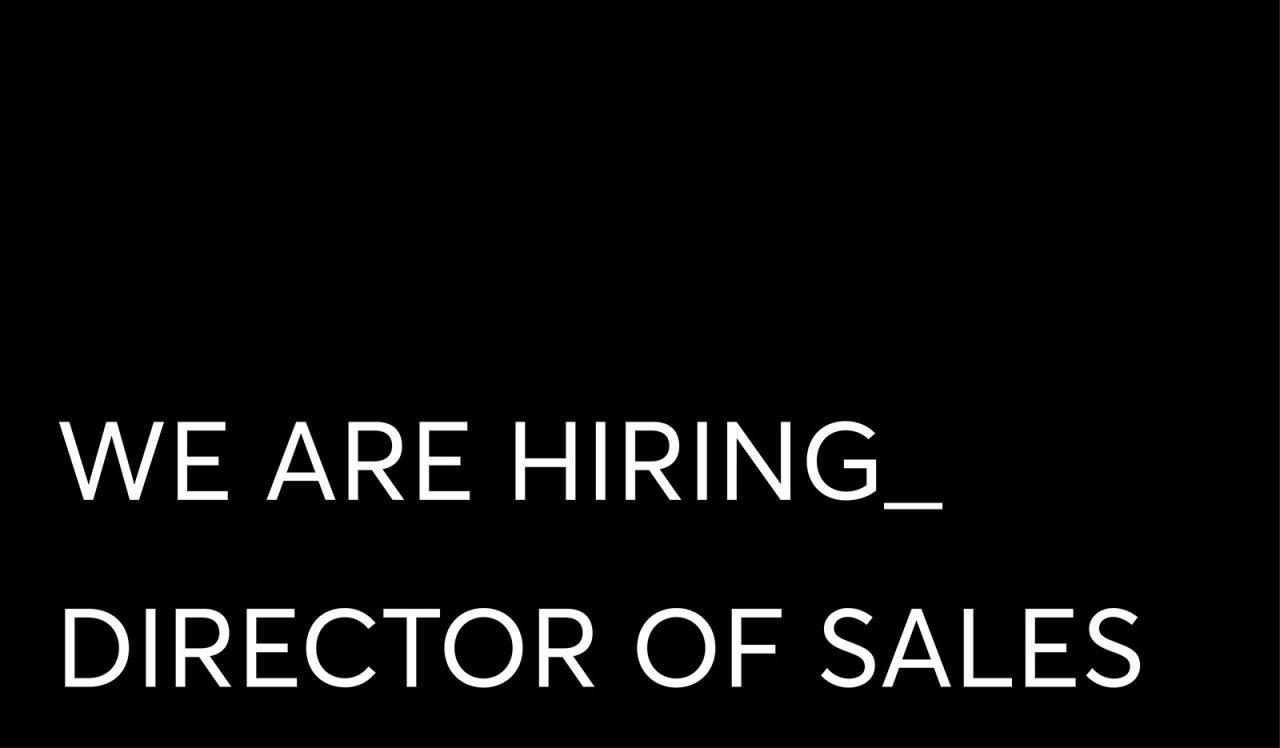Job Slate Director of Sales
