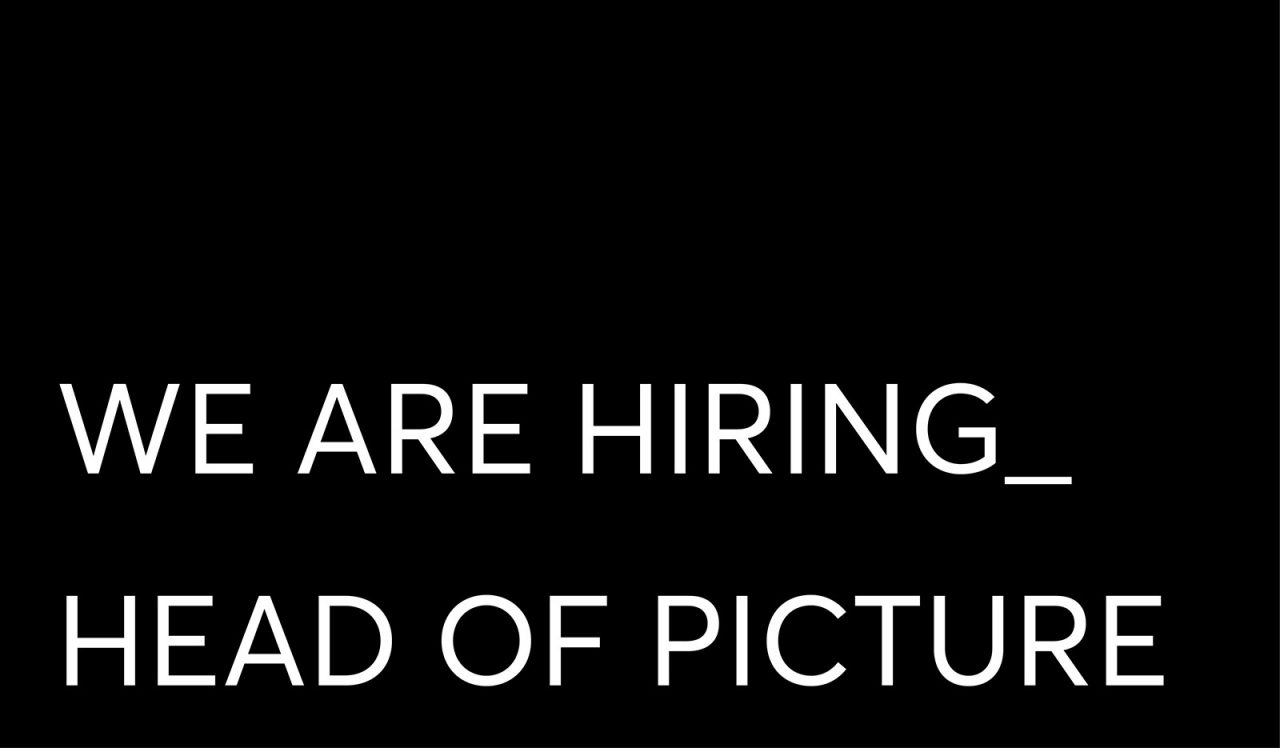 Hiring Head of Picture