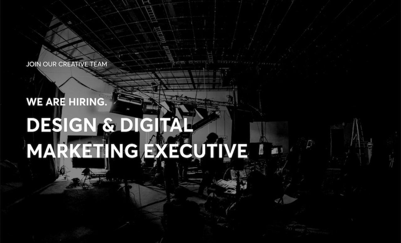 Hiring Marketing Executive